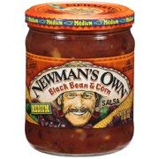 Newman's Own Black Bean & Corn Salsa, 16 oz, 2 pk (Best Black Bean Salsa)