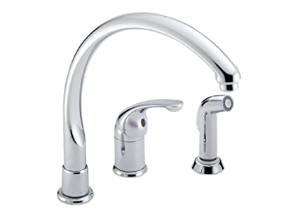 Delta Faucet 172-WF Waterfall Single-Handle Kitchen Faucet ...