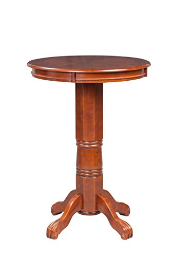 Boraam 71242 Florence Pub Table, 42-Inch, Cherry -