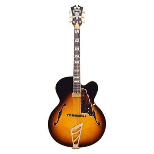 D'Angelico Excel EXL-1 Hollow-Body Electric Guitar – Vintage Sunburst