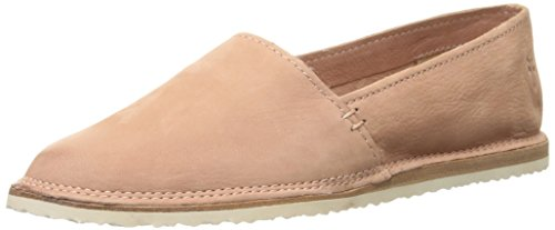 FRYE Women's Milly A Line Moccasin, Dusty Rose Soft Oiled Nubuck, 9 M US