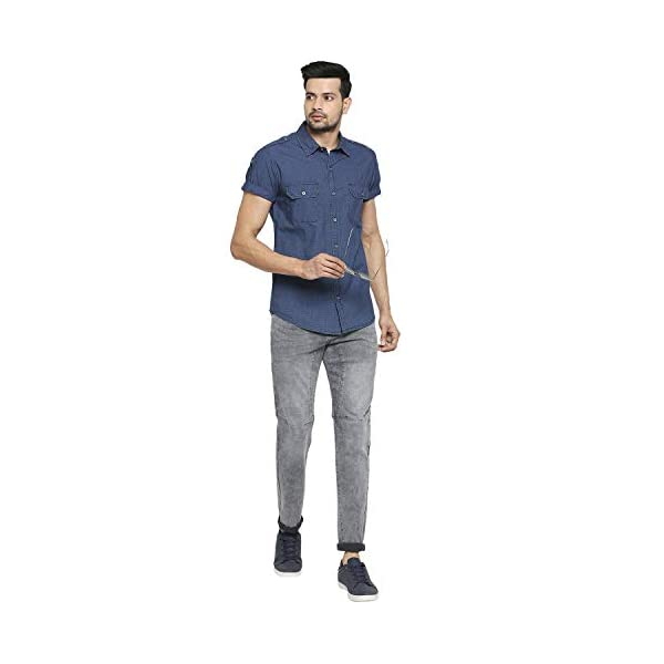 Mufti Men's Carrot Fitted Jeans 2021 July Care Instructions: Hand Wash Only Fit Type: Fitted Retailored Fit