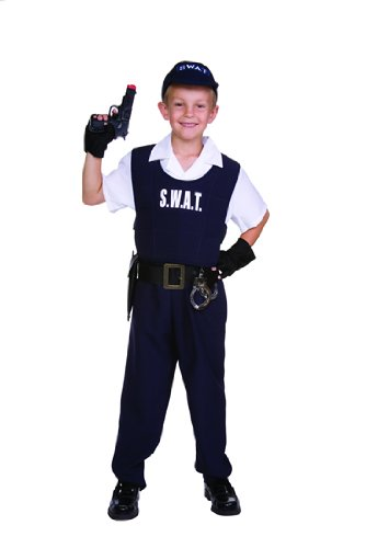 S.W.A.T. Officer Kids Costume -