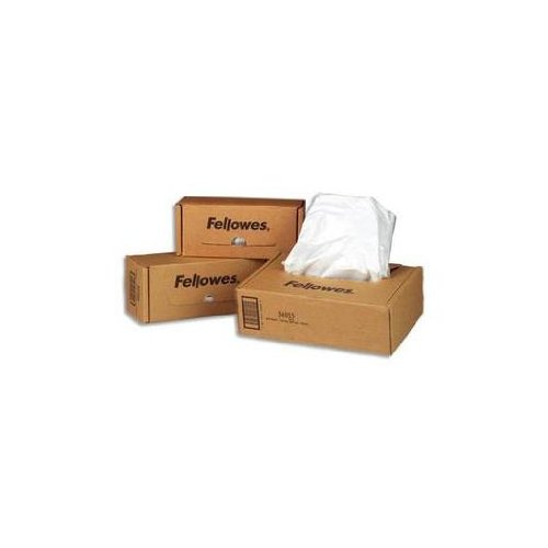 Fellowes 36054 - Powershred Shredder Bags f/Models C-120/20C/220/220C, 50 Bags amp; Ties/Carton-FEL36054