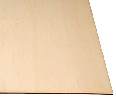 LASERWOOD Baltic Birch Plywood 1/4 x 24 x 36 by Woodnshop 1pc