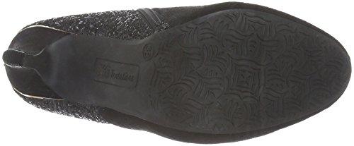 XTI 30265, Zapatillas de Estar por Casa para Mujer negro