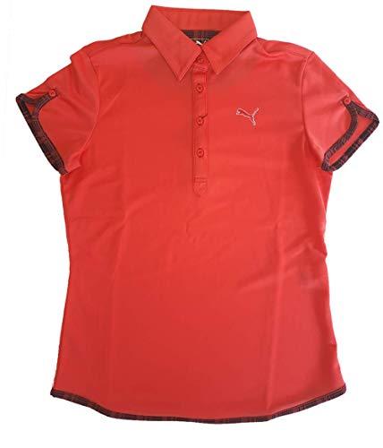 PUMA(プーマ) ゴルフW SSポロ カイエン 923225-02 レディース Lサイズ