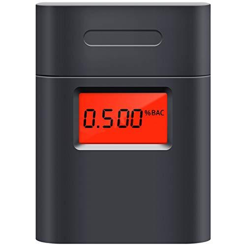 알콜 검사기 음주 측정기 일본어 설명서 부 블랙