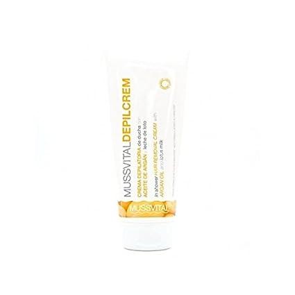 Mussvital Depilcrem crema depilatoria de ducha con aceite de argán y leche de loto 200ml