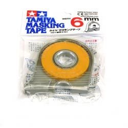 Tamiya - Cinta adhesiva de enmascarar 6mm. con portarollo (87030) product image