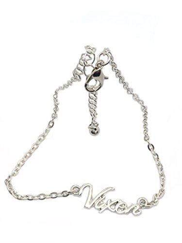 Alternative Intentions Vixen Hotwife Chain Anklets in Black, Silver and Gold - Queen of Spades - Cuckoldress - Mistress