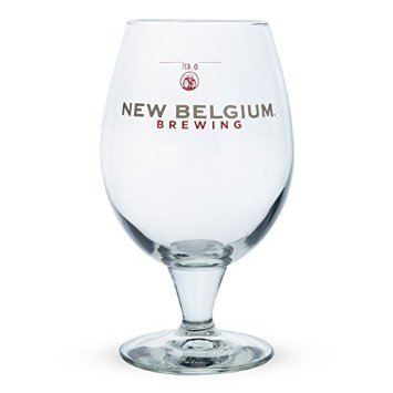 New Belgium Fat Tire Ale Globe Glass