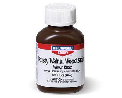 Birchwood Casey Rusty Walnut Wood Stain 3 - Stock Birchwood Casey