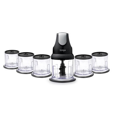 Ninja Professional Stackable Chopper With 6 16oz Bowls And Lids   NJ1006 30