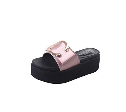 Pink YUCH De pour Femmes Plage Chaussures q7xzga