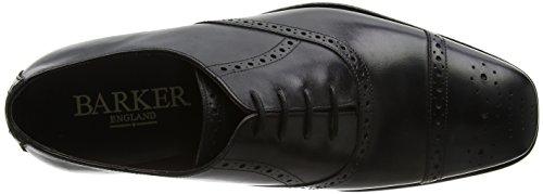 Black Stringate Scarpe BARKER Oxford Uomo Calf 17 Flynn Nero FxY7AOHqw