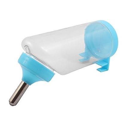 eDealMax plástico perrito de bebida que cuelga la Botella de agua del dispensador 450 ml de