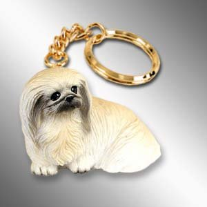 Pekingese Key Chain