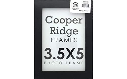 Easel Scrapbooking Frames - Sierra Pacific Crafts SPC Frame Wood 3.5X5 w/Easel Black