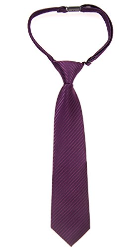 with Colors Tie Retreez Dark Various Violet Stripe Woven tied Boy's Textured Pre qwHRa1X