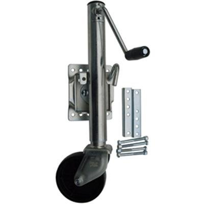 BOLT ON MARINE SWIVEL JACK 1200LBS 6 WHEEL ZINC Pacific Rim