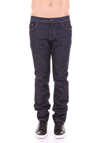 Prada Men's Gep110hogblue Blue Denim Jeans