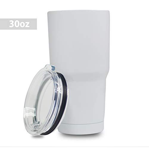 5 Star Stuff 30 oz Tumbler, 100% Stainless Steel Double Wall Vacuum Insulated Cup with Lid - (Star Stainless Steel Bottle)