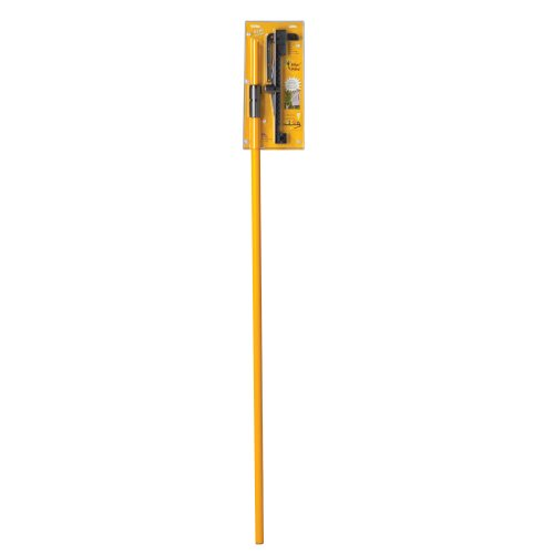 Wasp Wand WW001WEB Extendable 2-Piece Fiberglass Pole with Spray Can Attach, Yellow - Facia Control