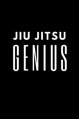 Jiu jitsu Genius: Training Log Book. Session Goals, Techniques, and Specific Training Notes.