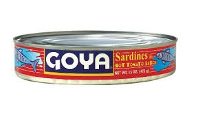 Goya Sardines in Hot Tomato Sauce, Oval, 15 - In Stores Dearborn