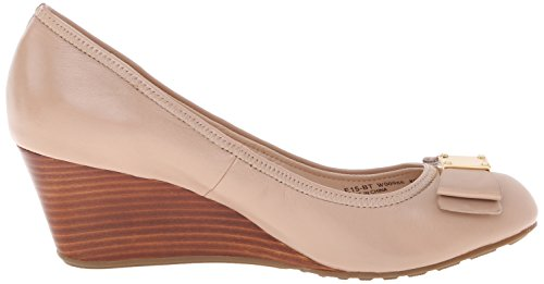Cole Haan Womens Tali Grand Bow Wedge Pump Ahornsuiker