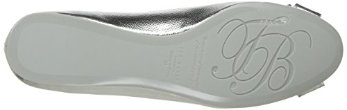Ballet Baker New 2 Women's Ted Shoe Bow Immet Silver cTvqSgqB4