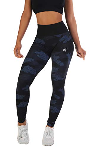 8a0199a2c73fd Jed North Women's Seamless Athletic Gym Fitness Workout Leggings  (X-Small/Small,