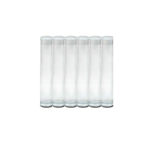 clear plastic tubes with caps - 4
