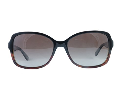 Kate Spade Sunglasses AYLEEN 0WR7 Black Havana Frame With (LA) brown gradient polarized lens - Havana Lens Brown Polarized Frame