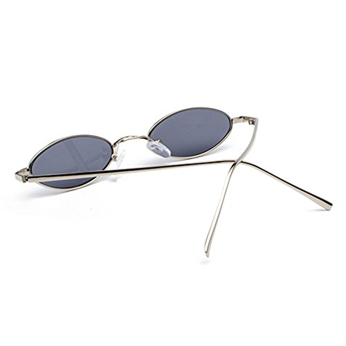 Femme Petites soleil C5 Retro Vintage Sunglasses Homme ovales WEIMEITE Small lunettes UV400 de qrrEIB