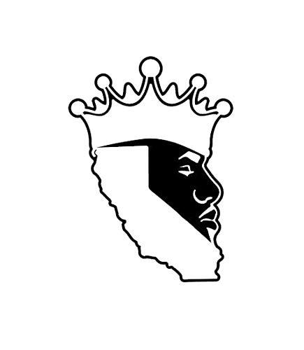 - Creative Concept Ideas LA Bron Basketball Player Los Angeles Labron CCI Decal Vinyl Sticker|Cars Trucks Vans Walls Laptop|Black|5.5 x 4.0 in|CCI2256
