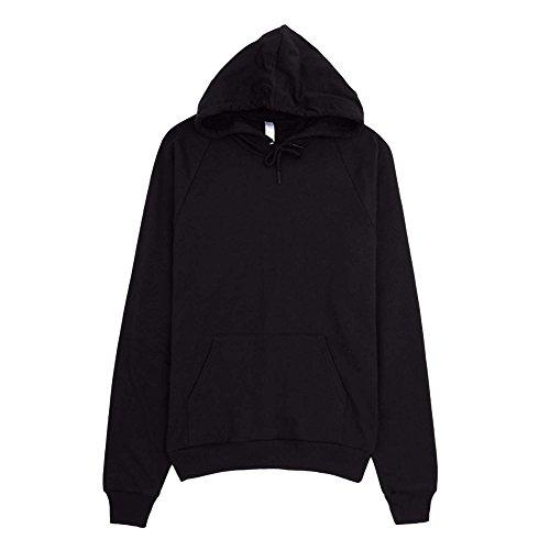 American Apparel Unisex California Fleece Pullover Hoodie/Jumper (XS) -