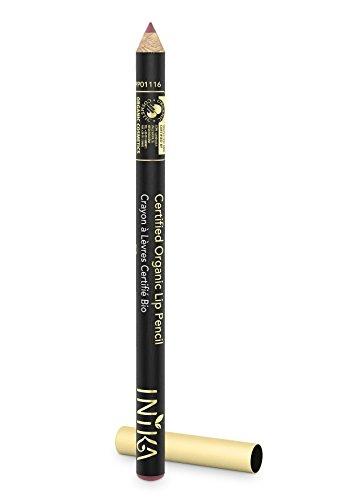INIKA Certified Organic Lip Liner Pencil, All Natural Formula, Vegan, Rich, Creamy Formula, Suits Sensitive Eyes, 1.2g (Safari) by INIKA (Image #2)