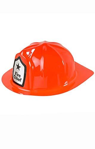 el carnaval sombrero gorro bombero rojo adulto plastico regalo de