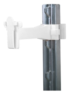- Dare Products 2340-25W T-Post Tape Insulator Extender White - Quantity 10