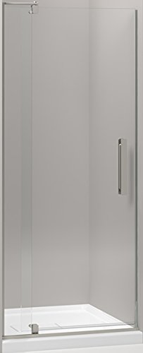 KOHLER K-707500-L-BNK Revel Pivot Shower Door with 1/4