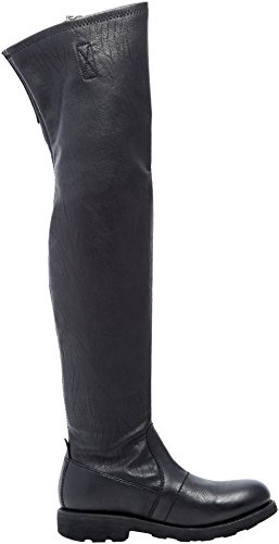 Donna Vintage Black Nero Stivaletti 932 Bikkembergs nw6qxgFq