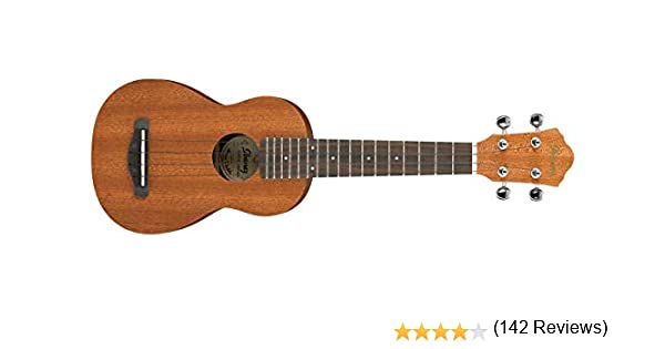 Ibanez UKS10 - Ukulele acústico, con bolsa, color natural: Amazon ...