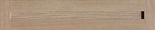 Oak Veneer Shaker (Unfinished Oak Shaker Drawer Front by Kendor, 6H x 31W)