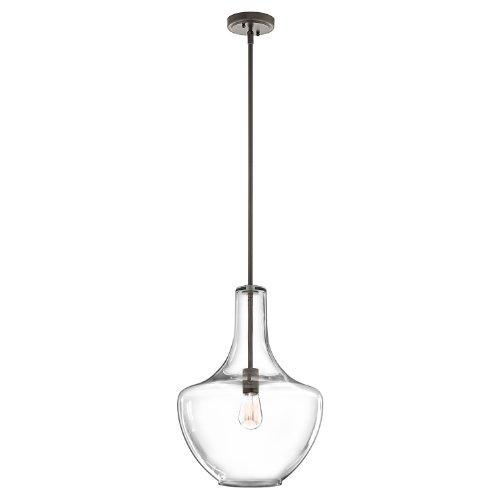 Kichler 42046OZCS One Light Pendant (Kichler Lighting Outdoor Pendant)