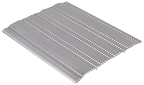 Mill Finish Aluminum Pemko 085608 271A48 Saddle Threshold 4 Width Aluminum 48 Length