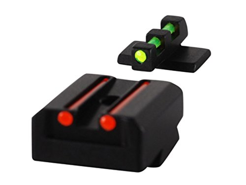 Williams Fire Sight Set Smith and Wesson Bodyguard 380 Fiber Optic Sights (70993)