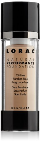 lorac natural performance foundation review