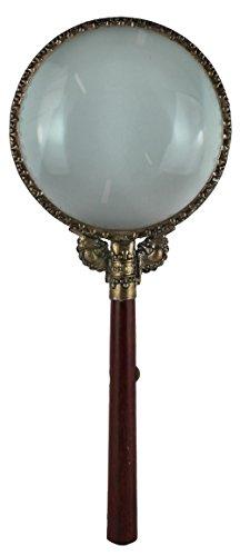 Vintage Handled - VINTAGE WOOD HANDLED MAGNIFYING GLASS